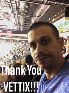 Andres attended Texas Stars vs. Tucson Roadrunners - Game Five - Second Round Playoffs - AHL on May 11th 2018 via VetTix