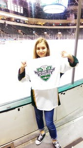 Thomas attended Texas Stars vs. Tucson Roadrunners - Game Five - Second Round Playoffs - AHL on May 11th 2018 via VetTix