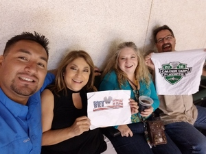 Christopher attended Texas Stars vs. Tucson Roadrunners - Game Five - Second Round Playoffs - AHL on May 11th 2018 via VetTix