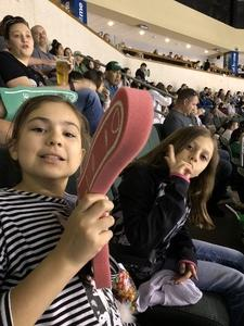 JoAnna attended Texas Stars vs. Tucson Roadrunners - Game Five - Second Round Playoffs - AHL on May 11th 2018 via VetTix