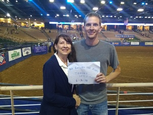 Benjamin attended Silver Spurs Arena/ Silver Spurs Rodeo on Jun 2nd 2018 via VetTix