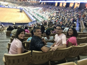 Antonio attended Silver Spurs Arena/ Silver Spurs Rodeo on Jun 2nd 2018 via VetTix