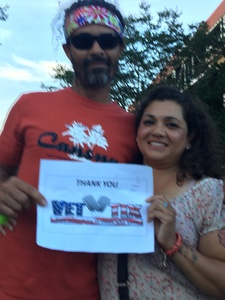 guillermina attended Steely Dan With the Doobie Brothers: the Summer of Living Dangerously on May 11th 2018 via VetTix