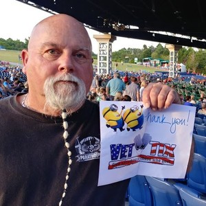 Fred attended Steely Dan With the Doobie Brothers: the Summer of Living Dangerously on May 11th 2018 via VetTix