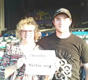 Terri attended Steely Dan With the Doobie Brothers: the Summer of Living Dangerously on May 11th 2018 via VetTix