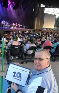 Glenn attended Steely Dan With the Doobie Brothers: the Summer of Living Dangerously on May 11th 2018 via VetTix