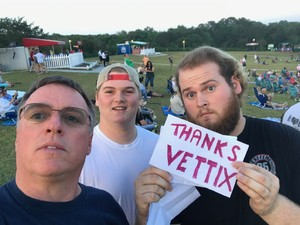 shawn attended Steely Dan With the Doobie Brothers: the Summer of Living Dangerously on May 11th 2018 via VetTix