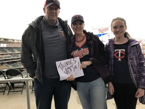 Christopher attended Minnesota Twins vs. Milwaukee Brewers - MLB on May 19th 2018 via VetTix