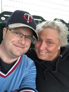 Steven attended Minnesota Twins vs. Milwaukee Brewers - MLB on May 19th 2018 via VetTix