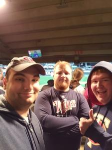Brian attended Minnesota Twins vs. Milwaukee Brewers - MLB on May 19th 2018 via VetTix