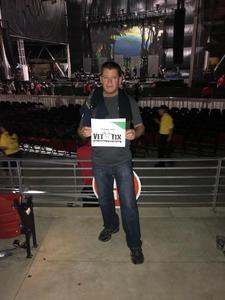 Larry attended Primus / Mastodon on May 11th 2018 via VetTix