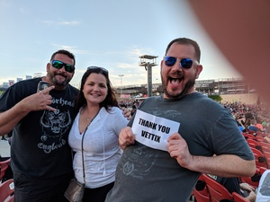 Nelson attended Primus / Mastodon on May 11th 2018 via VetTix