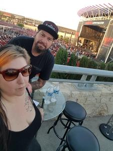 Daniel attended Primus / Mastodon on May 11th 2018 via VetTix