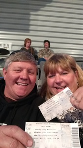 Randy attended Chris Young Losing Sleep World Tour With Special Guests: Kane Brown and Morgan Evans on May 10th 2018 via VetTix