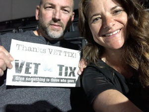 James attended Chris Young Losing Sleep World Tour With Special Guests: Kane Brown and Morgan Evans on May 11th 2018 via VetTix