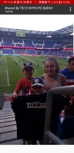Click To Read More Feedback from New York Red Bulls vs. Philadelphia Union - MLS - Military Appreciation Night