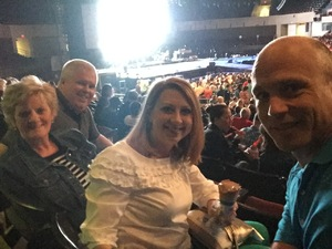 Gary attended Chris Tomlin Presents Worship Night in America on May 11th 2018 via VetTix