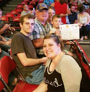 MSgt Dewey Johnson (Ret) attended Chris Tomlin Presents Worship Night in America on May 11th 2018 via VetTix