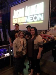 Jeff attended Jason Aldean High Noon Neon Tour on May 11th 2018 via VetTix