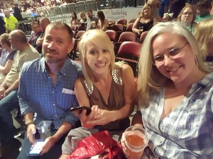 Thomas attended Jason Aldean High Noon Neon Tour on May 11th 2018 via VetTix