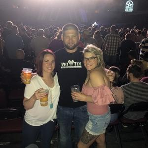 Chad attended Jason Aldean High Noon Neon Tour on May 11th 2018 via VetTix
