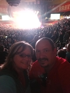 James attended Jason Aldean High Noon Neon Tour on May 11th 2018 via VetTix