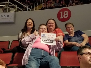 Terri attended Jason Aldean High Noon Neon Tour on May 11th 2018 via VetTix