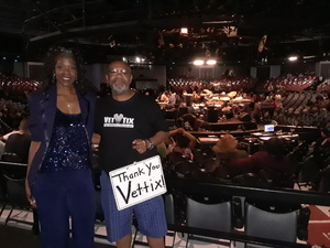 jeffery attended Mega 104. 3 Funk Fest With Zapp Band, Rose Royce, Lakeside and Cameo on May 12th 2018 via VetTix