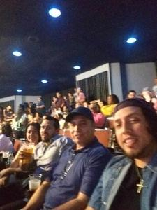 Efrain attended Mega 104. 3 Funk Fest With Zapp Band, Rose Royce, Lakeside and Cameo on May 12th 2018 via VetTix