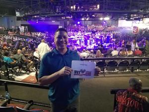 Ian attended Mega 104. 3 Funk Fest With Zapp Band, Rose Royce, Lakeside and Cameo on May 12th 2018 via VetTix