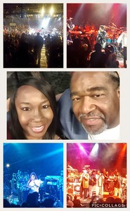 Thaxton attended Mega 104. 3 Funk Fest With Zapp Band, Rose Royce, Lakeside and Cameo on May 12th 2018 via VetTix