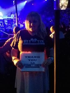 Sam attended Mega 104. 3 Funk Fest With Zapp Band, Rose Royce, Lakeside and Cameo on May 12th 2018 via VetTix