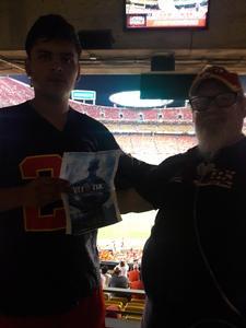 kevin attended Kansas City Chiefs vs. Houston Texans - NFL Preseason on Aug 9th 2018 via VetTix