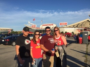 Renae attended Kansas City Chiefs vs. Green Bay Packers - NFL Preseason on Aug 30th 2018 via VetTix