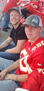 Chris attended Kansas City Chiefs vs. Green Bay Packers - NFL Preseason on Aug 30th 2018 via VetTix