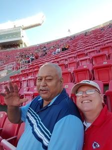 Joseph attended Kansas City Chiefs vs. Green Bay Packers - NFL Preseason on Aug 30th 2018 via VetTix