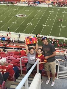 Aaron attended Kansas City Chiefs vs. Green Bay Packers - NFL Preseason on Aug 30th 2018 via VetTix