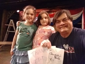 James attended Charlotte's Web on Jun 1st 2018 via VetTix