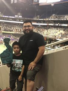 Daniel attended Arizona Rattlers vs. Nebraska Danger - AFL on May 27th 2018 via VetTix
