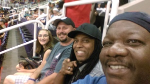 ULRIC attended Arizona Rattlers vs. Nebraska Danger - AFL on May 27th 2018 via VetTix