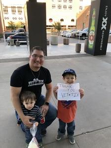 David attended Arizona Rattlers vs. Nebraska Danger - AFL on May 27th 2018 via VetTix