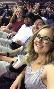 Thomas attended Arizona Rattlers vs. Nebraska Danger - AFL on May 27th 2018 via VetTix