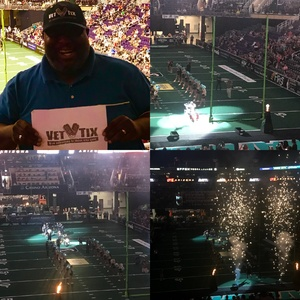 John Graves attended Arizona Rattlers vs. Nebraska Danger - AFL on May 27th 2018 via VetTix