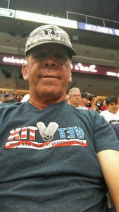 Paul attended Arizona Rattlers vs. Nebraska Danger - AFL on May 27th 2018 via VetTix