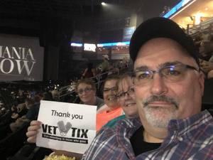 Dan and Caryn attended Shania Twain Now Tour on May 16th 2018 via VetTix
