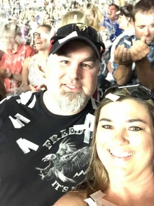 Kelly attended Shania Twain Now Tour on May 16th 2018 via VetTix