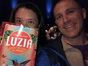 Matthew attended LUZIA by Cirque du Soleil on May 16th 2018 via VetTix