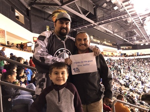 Edward attended Texas Stars vs. Rockford Icehogs - Game One- Western Conference Finals - AHL on May 18th 2018 via VetTix