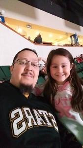 Joe attended Texas Stars vs. Rockford Icehogs - Game One- Western Conference Finals - AHL on May 18th 2018 via VetTix