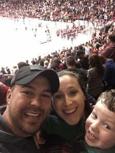 Fernando attended Texas Stars vs. Rockford Icehogs - Game One- Western Conference Finals - AHL on May 18th 2018 via VetTix